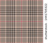glen check plaid pattern.... | Shutterstock .eps vector #1441705322