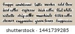 set of coffee labels. various... | Shutterstock .eps vector #1441739285