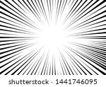 radial stripes abstract... | Shutterstock .eps vector #1441746095