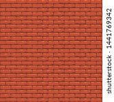 Brick With Orange Color And...