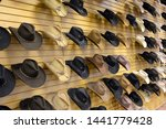 Variety Of Cowboy Hats In...