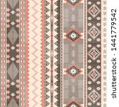 ethnic textile decorative... | Shutterstock .eps vector #1441779542