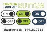 turn on button turn off button
