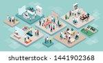 professional seniors assistance ... | Shutterstock .eps vector #1441902368
