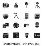 icon equipment camera  some... | Shutterstock .eps vector #1441908158