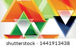 dynamic triangle composition...   Shutterstock .eps vector #1441913438