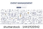 event management   marketing... | Shutterstock .eps vector #1441920542