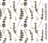 watercolor seamless pattern in... | Shutterstock . vector #1442087495