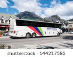 banff  alberta   june 16 ... | Shutterstock . vector #144217582