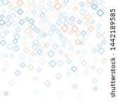 rhombus backdrop minimal... | Shutterstock .eps vector #1442189585
