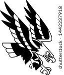 vector old school style tattoo... | Shutterstock .eps vector #1442237918