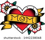 vector old school style tattoo... | Shutterstock .eps vector #1442238068