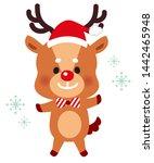 Illustration Of A Cute Reindeer