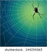 spider's webs | Shutterstock .eps vector #144254365