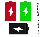 battery vector colorful fill...