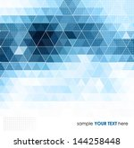 abstract template background...   Shutterstock .eps vector #144258448