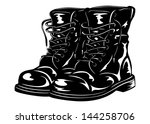 vector illustration black... | Shutterstock .eps vector #144258706