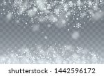 new year snow background.... | Shutterstock .eps vector #1442596172