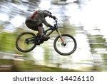 mountain biker | Shutterstock . vector #14426110