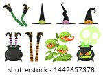 Collection Of Cartoon Witch...