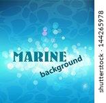 vector sea background   Shutterstock .eps vector #144265978
