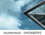 modern architecture. minimalist ... | Shutterstock . vector #1442680592