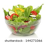 Delicious Salad On A Bowl...