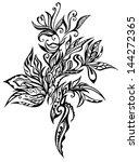 tracery | Shutterstock .eps vector #144272365