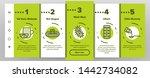 influenza linear vector icons... | Shutterstock .eps vector #1442734082