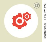 settings vector icon modern and ...
