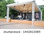 the rock concert. odessa city ...   Shutterstock . vector #1442812085