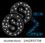 bright mesh coin summary with... | Shutterstock .eps vector #1442855708