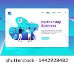 landing page partnership...