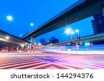 junction with light in shanghai | Shutterstock . vector #144294376