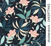 trending bright seamless...   Shutterstock .eps vector #1442977442