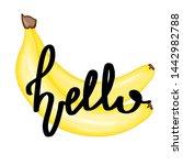 summer design sticker with...   Shutterstock . vector #1442982788
