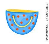 summer bag for beach in cute...   Shutterstock . vector #1442982818