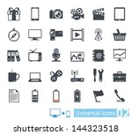 universal icons set 02 | Shutterstock .eps vector #144323518