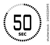 the 50 second countdown timer...