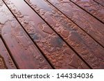 Pooled Water On Finished Deck...