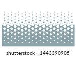 modern pattern vector... | Shutterstock .eps vector #1443390905