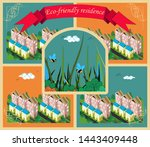commercial and advertising...   Shutterstock .eps vector #1443409448
