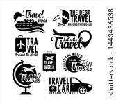 Badge Travel Logo World...