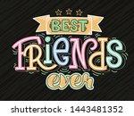 vector illustration of best... | Shutterstock .eps vector #1443481352