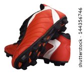 close up of a pair of sports... | Shutterstock . vector #144356746
