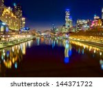 Looking Down The Yarra River On ...