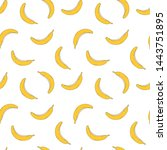 hand draw seamless pattern of...   Shutterstock .eps vector #1443751895