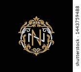 initial letter n and n  nn ...   Shutterstock .eps vector #1443759488
