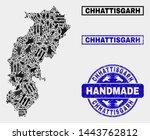 vector handmade composition of...   Shutterstock .eps vector #1443762812