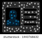 bright mesh account card with... | Shutterstock .eps vector #1443768632